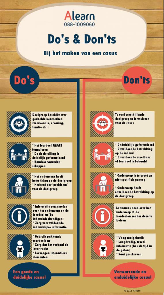 infographic do's en don'ts