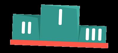 podium transparant