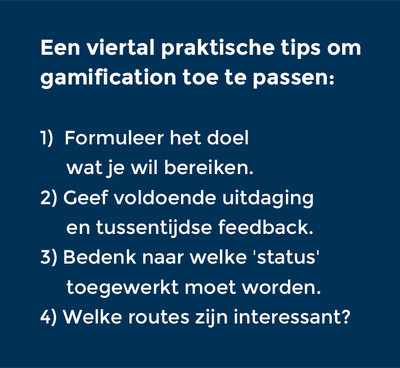 practische tips bij gamification